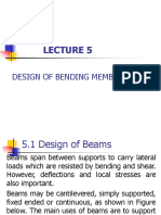 Lecture 5-Bending Members
