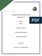 Act. de aplicación Biologia 2