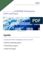 Unit 2 IBM Advanced POWER Virtualization (APV) and Oracle