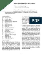 Hydrodynamic Investigation of Ballast-Free Ship Concept