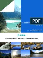La GEstion Del Agua en El PERU