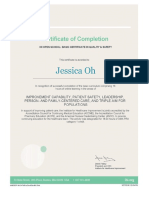 ihi certification
