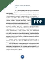 Cuaderno de Cátedra Teorías de La Justicia