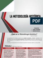 metodologia historica