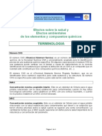 TERMINOLOGIA EFECTOS SOBRE LA SALUD Y EFECTOS AMBIENTALES DE LOS ELEMENTOS Y COMPUESTOS QUIMICOS (1).doc