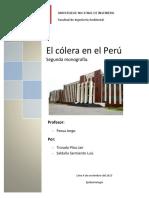 Segunda Monografia El Cólera en El Perú