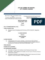 Agenda 05-01-18