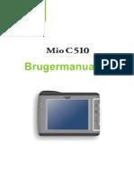 MIO C510E Danish User's Manual