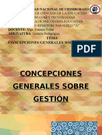 GESTION PEDAGOGICA
