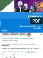 Clase 21 Química orgánica III Grupos funcionales 2016