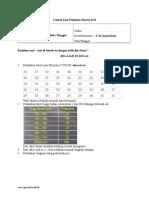 4. Penyajian Data Tunggal