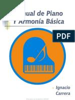 - Manual de Piano