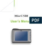 MIO C510E English User's Manual