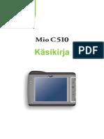 MIO C510E Finnish User's Manual
