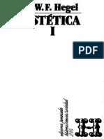 Hegel - Lecciones de Estetica. Selección