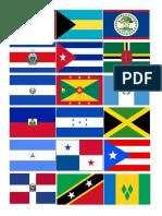 Banderas de America y Las Antillas