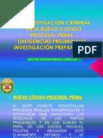 Investigacion Criminal Nuevo Codigo Procesal Penal
