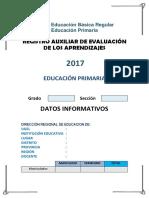 Registro Auxiliar Primaria 2017 2018