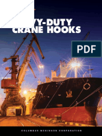 CM Heavy-Duty Crane Hooks Brochure