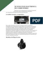 Sistema de Inyeccion Electrinica de Combustible AUTOS