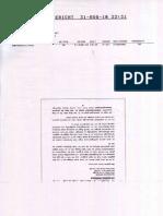 Beleg Fax Drittes Schreiben an Auswaertiges Amt Amtlich 18-8-2010 u 31-8-2010