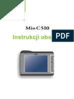 MIO C510E Polish User's Manual