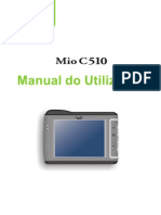 MIO C510E Portuguese User's Manual