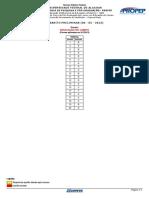 (Gabaritos Preliminares - Especialização - Educação Do Campo - UFCG
