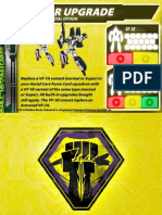 Malcontents VF-1R Upgrade Support Card for Robotech RPG Tactics
