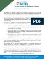 Comunidad de Latina de Lideres GEFEs - Postulados Esenciales