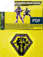 Malcontents Zentraedi Infantry Officer Upgrade Card for Robotech RPG Tactics