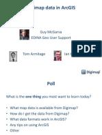 29 April 2015 Digimap Data in Arcgis Gm2