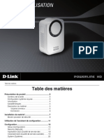 D-link DHP-302 CPL adapter French user's guide