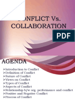 Conflict vs Collaboration