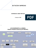 1° Renta Primera Categoría 1S 2018 (UDP)