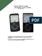 Diagrama Multimetro Analogico Bk b360tre Sunwa Yx360treb
