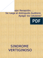 7. Sindrome Vertiginoso-2009