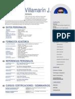 342721455 Curriculum Vitae Completo
