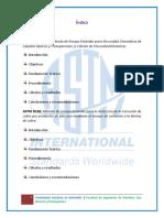 4to Informe de Combustibles