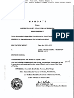 [13-Cf-6316] Mandate From Appellate Court Affirmed, 1d15-4331 Book 18147 Page 207-211