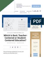 Teacher-Centered vs. Student-Centered Education.pdf