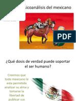 Psicoanálisis Del Mexicano