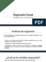 S23 Regresión Lineal