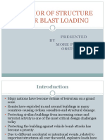 Behavior of Structure Under Blast Loading