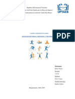 Eduación Fisica, Deporte y Recreacion (Cuadro comparativo)