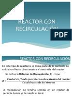 Reactor Con RecirculaciónIA