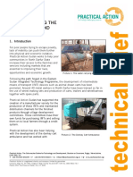 Manufacturing the Donkey Cart and Ambulance