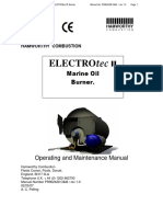 Electrotec Marine Oil Burner Manual