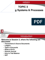 Topic 3B Accounting Systems & Processes 2016
