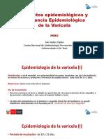 Epidemiología de La Enfermedad Varice